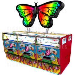 Harry Levy's new Butterfly Pusher Cabinet