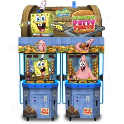 Andamiro's new Krabby Patty Party machine
