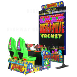 Taito's Classic Bust-A-Move Frenzy Cabinet
