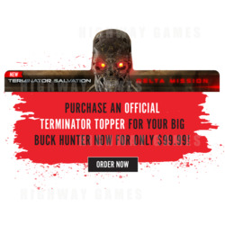 Terminator Toppers Now Available for Big Buck Hunter