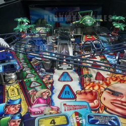 Thunderbirds Pinball's Playfield