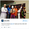 Jamie Lee Curtis Goes Incognito As Street Fighter Vega At Evo 2015
