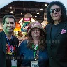 Apple Show KISS Photo Booth featuring Gene Simmons at Amusement Expo 2016