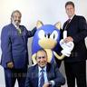 Sega trio visit London office, meet Daytona team