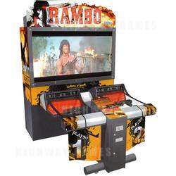 """Rambo DX 55"""" Arcade Shooting Machine"""