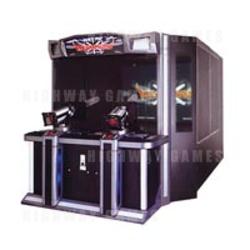 Vulcan Wars Arcade Shooter Machine