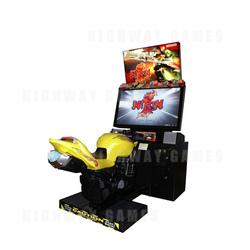 Nirin DX Motorcycle Racing Arcade Game
