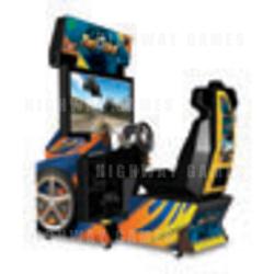 Twisted: Nitro Stunt Racing DX Arcade Machine