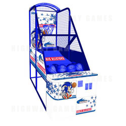 Sonic Sports Basketball Arcade Machine