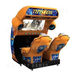 Typhoon Simulator Arcade Machine