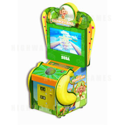 Super Monkey Ball Ticket Blitz Arcade Machine