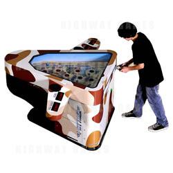 i-Attack Arcade Redemption Machine - Desert