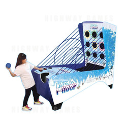 i-Hoop Redemption Arcade Machine - Ice Model
