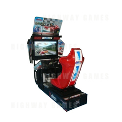 Arcade Driving Cabinet for Playstation3 and Xbox360