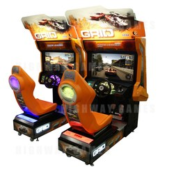"Grid 42"" HD Twin Arcade Machine"