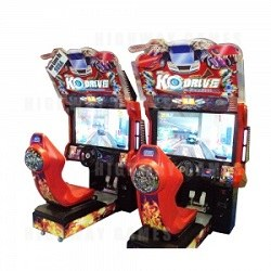 KO Drive Twin Arcade Machine