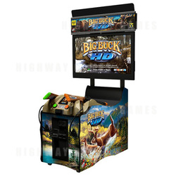 Big Buck HD Panorama Arcade Machine (with or without monitor)