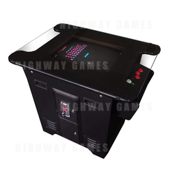 Arcade Table Multigame Machine with VGA CRT Monitor