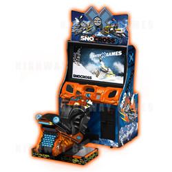 Snocross Winter X Games Arcade Machine