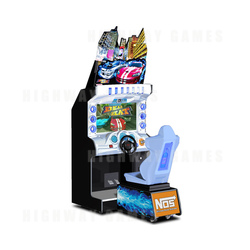 "Dead Heat 32"" Arcade Driving Machine"
