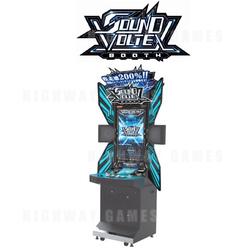 Sound Voltex Booth by Konami | Arcade Machines | Highway Games