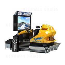Aqua Race Extreme 4D/5D Motion Simulator