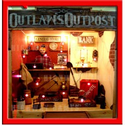 Outlaw's Outpost Electronic Shooting Gallery