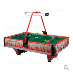 Orange Frenzy Air Hockey Table