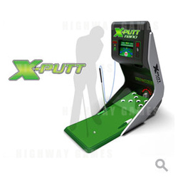 X Putt Nano Golf Redemption Game