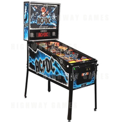 AC/DC Limited Edition (LE) Pinball Machine