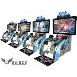 Gunslinger Stratos Arcade Machine