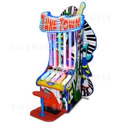 Tune Town Music Ticket Redemption Machine