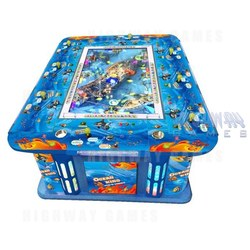Ocean King 8 Player Arcade Machine