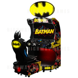 Batman Driving Arcade Machine