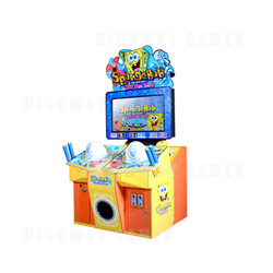 Spongebob: Hit the Beat Arcade Machine