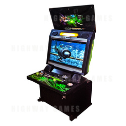 GameWizard Saturn Arcade Machine (Green)