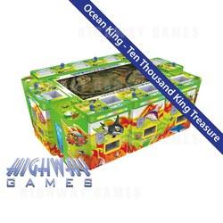 Ocean King Ten Thousand King Treasure Arcade Machine