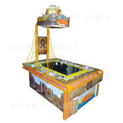 Mermaids Lagoon Ticket Redemption Arcade Machine