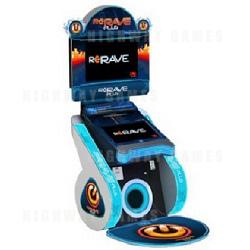 ReRave Plus Music Arcade Machine