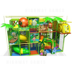 3D Softplay Jungle Gym