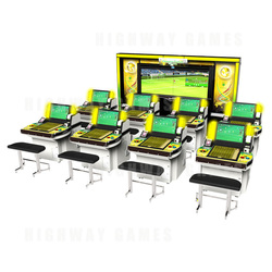 World Club Champion Football (WCCF) 2013-2014 Arcade Machine