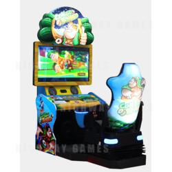 Congo Bongo Racing Arcade Machine