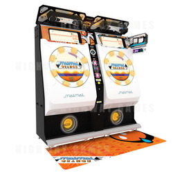 MaiMai Orange Rhythm Arcade Machine