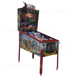 Wizard of Oz 75th Anniversary Edition Pinball Machine