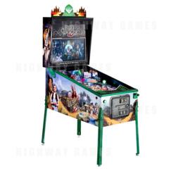 Wizard of Oz Emerald City Limited Edition Pinball Machine