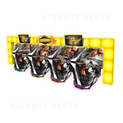 "Showdown 65"" HD Motion Special Attraction Arcade Machine"
