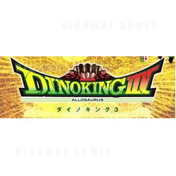 Dino King 3 Medal Machine