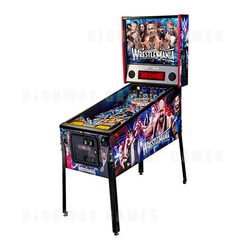 WWE Wrestlemania Pro Pinball Machine