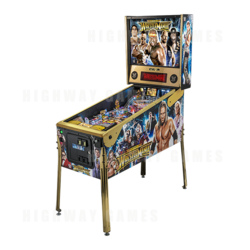 WWE Wrestlemania Limited Edition Pinball Machine
