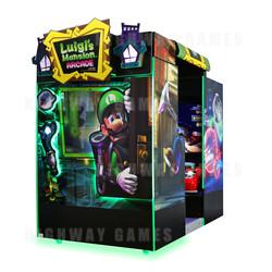 Luigi's Mansion Arcade Machine